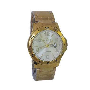 Hegner 600048 B AnalogHegner 600048 B Analog Model Couple Jam Tangan Pria - Gold Model Couple Jam Tangan Pria - Gold