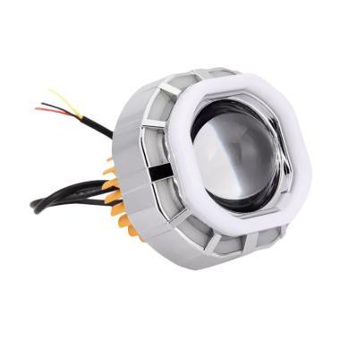 Raja Motor V07 Kotak Projector LED  ... [DOH9312-Biru-Merah-Biru]