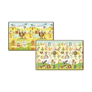 Parklon PE Roll Mat Safari Happy Bi ... [Size L/200 x 150 x 1 cm]