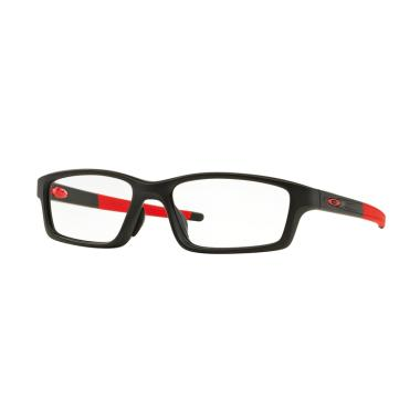 Oakley Ophthalmic Optical Crosslink ... in Black Frame/Demo Lens]