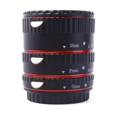 XCSource Metal Auto Focus Macro Ext ... , 700D - Hitam List merah