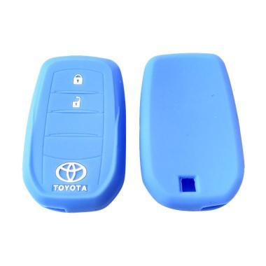 OEM Sillicone Remote Cover for Toyo ... Innova tipe Q - Biru Muda