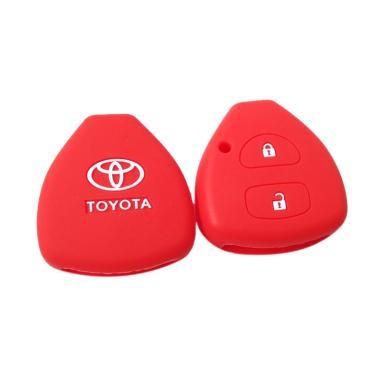 OEM Sillicone Remote Cover Sarung Kunci For Toyota Kijang Innova Yaris Fortuner