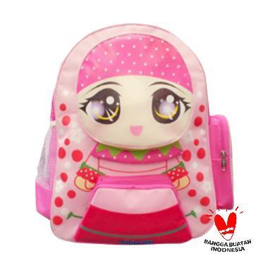 Uliandra Ransel Muslim Kids Karakte ... Backpack Tas Sekolah Anak