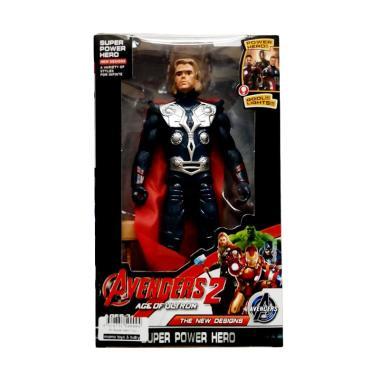 harga Momo Avengers 2 The New Designs Super Power Hero Karakter Thor Action Figures - Multicolour Blibli.com