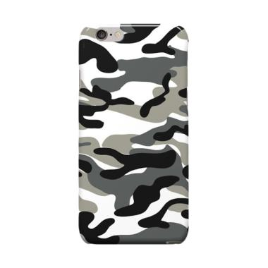 Indocustomcase Army Camoflauge Cove ...  or 6S Plus - Black White