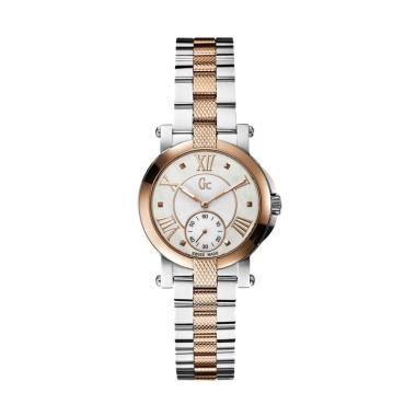Guess Collection X50003L1S Gc Demoi ... Wanita - Silver Rose Gold