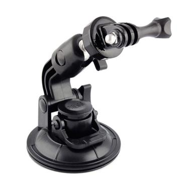Action Cam Suction Cup with Tripod  ... /Xiaomi Yi - Hitam [9 cm]
