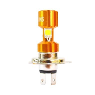 Raja Motor ONS Lampu Depan Halogen  ... per White [DOH9044-Putih]