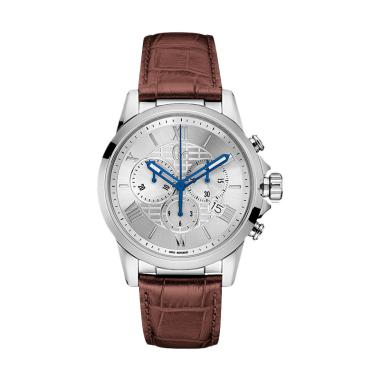 Guess Collection Chronograph Leathe ... 08005G1 - Brown Silver Gc