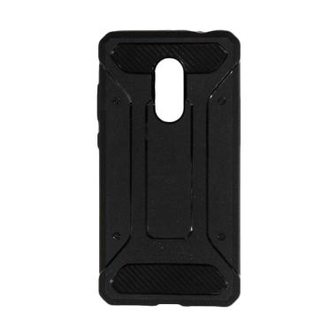 sneakers for cheap ede74 5f8a9 Spigen Rugged Capsule with Carbon Fiber Textures Softcase Casing for Xiaomi  Redmi Note 4X - Hitam