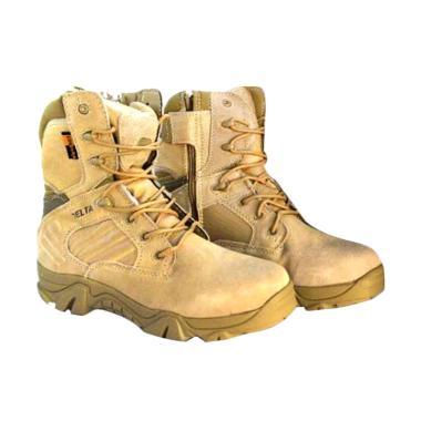 Delta Men's Desert Military Combat  ... arent Sepatu Pria - Khaki