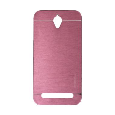 Motomo Metal Hardcase Casing for As ... o ZC450TG 4.5 Inch - Pink