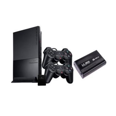 Sony Playstation 2 Slim Game Consol ... ull Games + Paket Lengkap