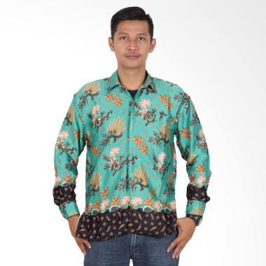 Batik Putri Ayu Solo Semi Sutra Fur ... an Panjang KPJ201 - Hijau