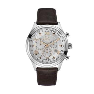 Guess Collection Gc Smartclass Chro ... a Y04001G1 - Brown Silver