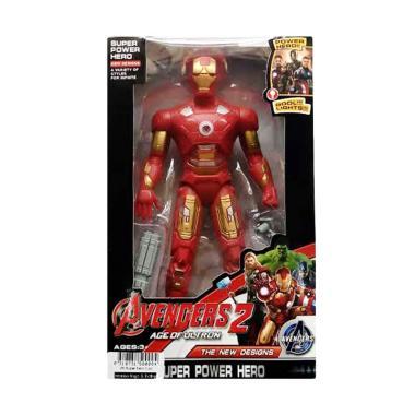 harga Momo Avengers 2 The New Designs Super Power Hero Karakter Iron Main Action Figures - Multicolour Blibli.com