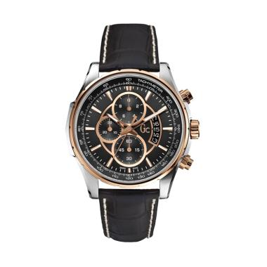 Guess Collection Chronograph Jam Ta ... 81007G2S - Black Rosegold