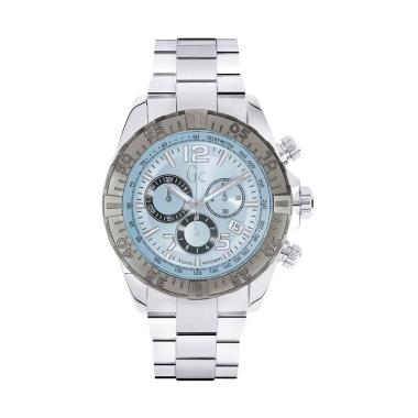 Guess Collection Gc Sportracer Chro ... ria Y02005G7- Silver Blue
