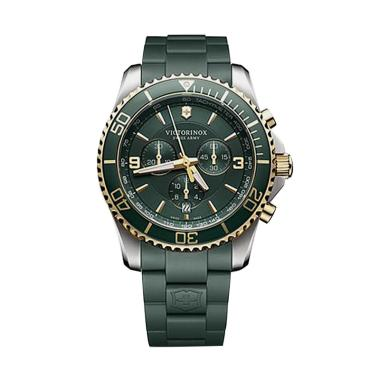 Victorinox Swiss Army Maverick Chro ...  Pria - Green Gold 241694