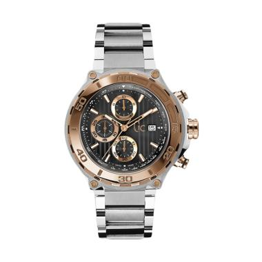 Guess Collection Gc Bold Chronograp ...  - Silver Rose Gold Black