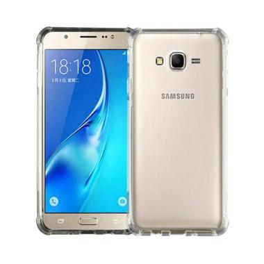 harga Case88 Anti Crack Anti Shock Silicon Softcase Casing for Samsung Galaxy J3 Pro or J3110 - Clear Blibli.com