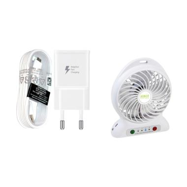 Samsung Original White Travel Charg ... k Fan Portable [2000 mAh]