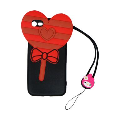 VR 3D Candy Love Edition Silicon So ... Phone 7G 4.7 Inch - Black