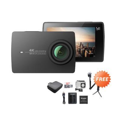 Xiaomi Yi 2 4K Action Cam - Black + ...  + Desktop Charger Kingma