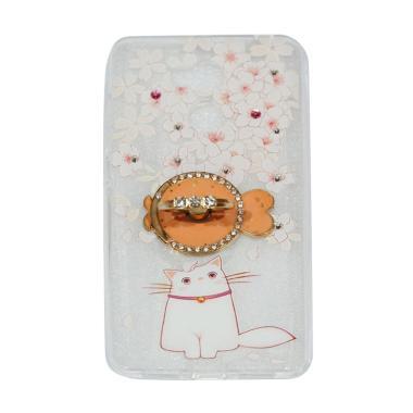 QCF Softshell Swarovski Cat Kucing  ...  for Xiaomi Redmi 4 Prime