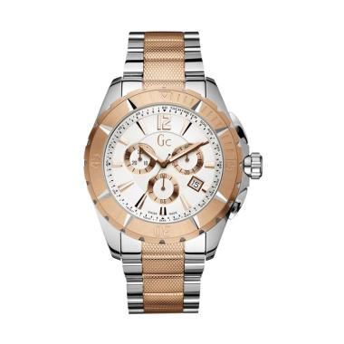 Guess Collection Gc Sport Class XXL ... 002G1S - Silver Rose Gold