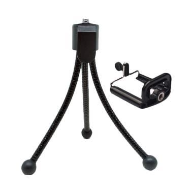 Mine Z01-2 Fleksibel Mini Tripod wi ... Screw - Black [Size SC-M]