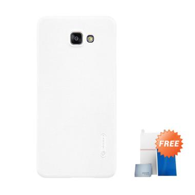 Nillkin Original Super Frosted Shield Hard Casing for Samsung Galaxy A9 Pro A9100 - White +