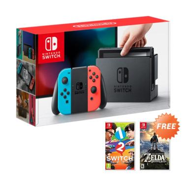 Buy Nintendo Switch Game Console -  ... d dan Nintendo 1-2 Switch