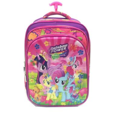 Bravery Disney My Little Pony Best  ...  Rubah Tas Troley Sekolah