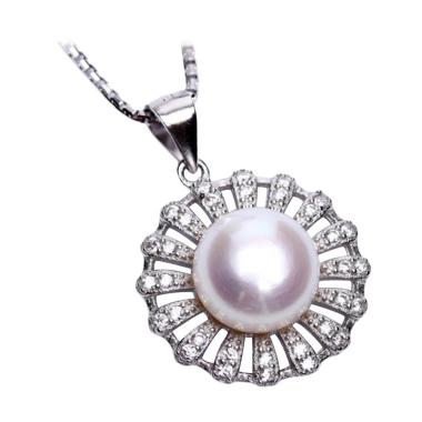 Royale Jewel  WGP 111D - Kalung Per ... ling Chain and Velvet Box