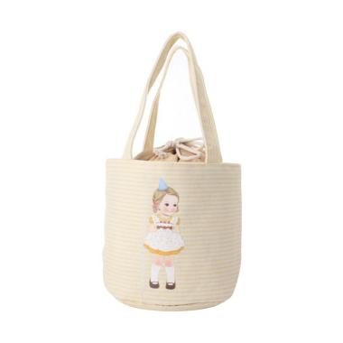 Inini Doll Travel Bag - Yellow [Ico ... h Pouch/ Bento Lunch Bag]