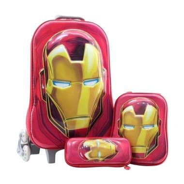 Bravery Disney Marvel Avenger Iron  ... [Troley T/Backpack/Pouch]