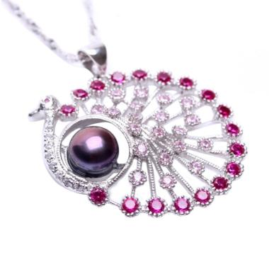 Royale Jewel  WGP 083A Very Rare Ra ... ling Chain and Velvet Box