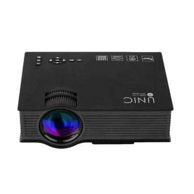 Infokus Proyektor Wifi UNIC 1200 Lumens   Up To 130 Inch