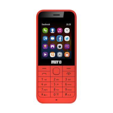 Mito 135 Handphone - Merah