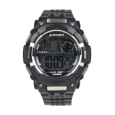 Eiger YP11524-01 Digi Watch Jam Tangan Pria - Black