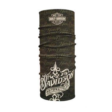 CK-Bandana Motif Harley Buff Multifungsi - Black