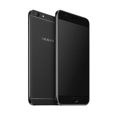 OPPO A57 Smartphone - Black [32GB/ 3GB] - Gratis 4 Item