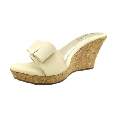 Richelle Viona Sandal wedges - Cream