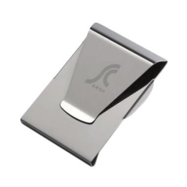 Flextreme Slim Clip Dompet Pria - Silver