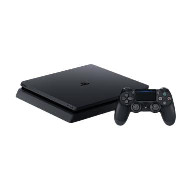 SONY PS4 SLIM REG ASIA 500GB (FREE PSN 3 BULAN) Game Console Black