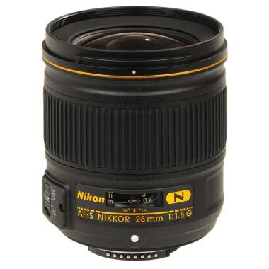 Nikon AF-S 28mm f-1.8G Lensa Kamera