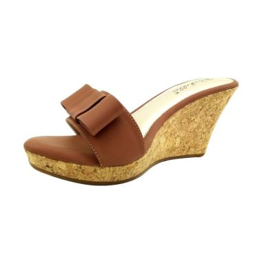 Richelle Viona Sandals Wedges - Brown