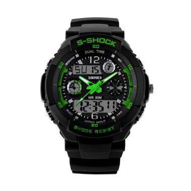 Skmei 0931 Jam Tangan Pria - Black Green